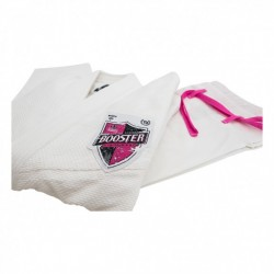 BJJ GI BOOSTER FIGHTGEAR PRO SHIELD WOMEN BLANC/FUSCHIA