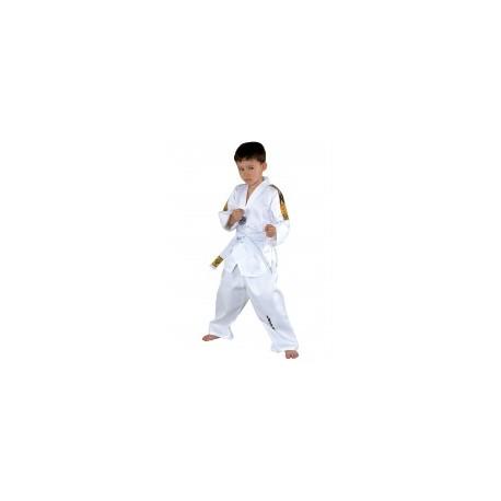 TAEKWONDO DOBOK KWON TIGER WHITE V-NECK
