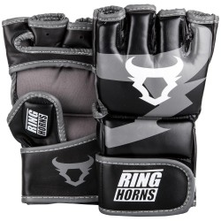 GANTS DE MMA RINGHORNS by Venum CHARGER NOIR/GRIS