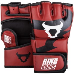 GANTS DE MMA RINGHORNS by Venum CHARGER NOIR/ROUGE