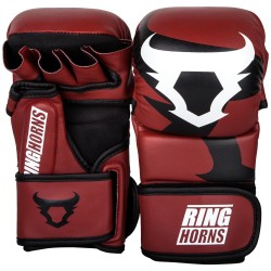 GANTS DE SPARRING RINGHORNS by Venum CHARGER NOIR/ROUGE
