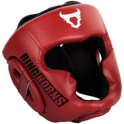 CASQUE DE BOXE RINGHORNS CHARGER ROUGE