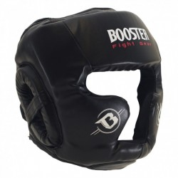 PROFESSIONNEL BOXING HEAD GUARD PHOENIX LEATHER, BLACK