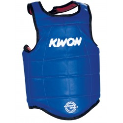 TAEKWONDO CHEST GUARD REVERSIBLE COMPETITION KWON WTF APPROVED