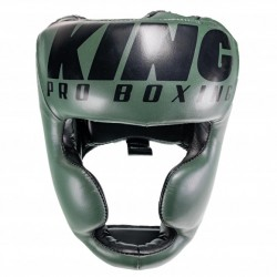 CASQUE DE BOXE KING PRO BOXING HG GRIS