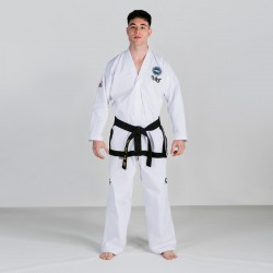 DOBOK ITF FUJI MAE TRAINING LITE BLACK BELT APPROVED