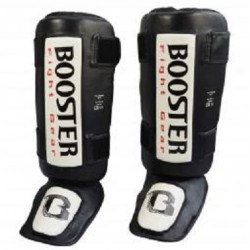 SHIN-INSTEP BOOSTER THAI STRIKER BLACK-WHITE