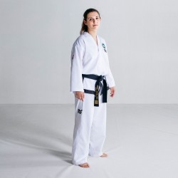 DOBOK ITF FUJI MAE PRO WEAR BLACK BELT APPROVED