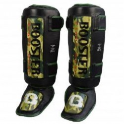 SHIN-INSTEP BOOSTER THAI STRIKER BLACK-CAMOUFLAGE