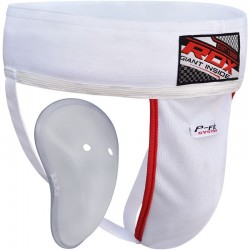 COQUILLE HOMME RDX H1 BLANCHE/ROUGE
