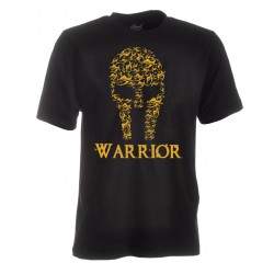 TEE-SHIRT CAPUCHE WARRIOR NOIR