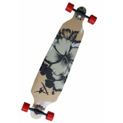 LONGBOARD SPARTAN DROP SHAPE SURFER BLACK 42