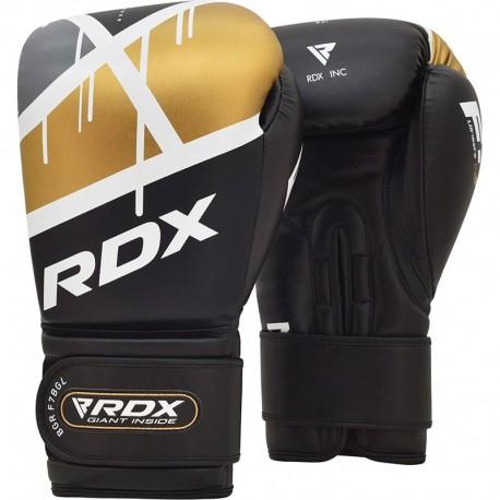 GANTS DE BOXE RDX F7 EGO NOIR/OR