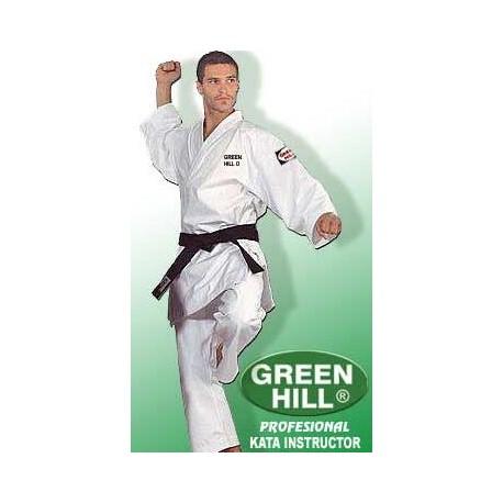 "KARATESUIT GREEN HILL «KATA INSTRUCTOR"""