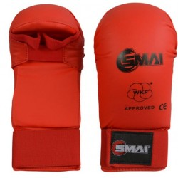 RED KARATE GLOVES TOKAÏDO WKF APPROVED