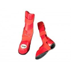 RED KARATE SHIN GUARD, TOKAIDO, WKF