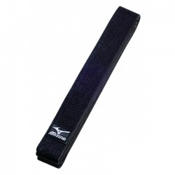 CEINTURE NOIRE MIZUNO BEST COTON 4,5 cm