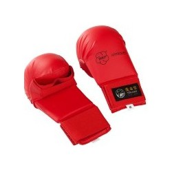 GANTS DE KARATE ROUGES TOKAÏDO WKF APPROVED