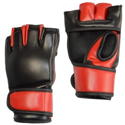 MMA GLOVES PHOENIX ADVANCE LEATHER RED/BLACK